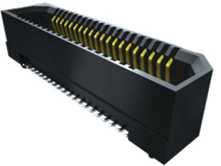 Samtec , ERF8 0.8mm Pitch 13 Way 2 Row Vertical PCB Socket, Surface Mount, Solder Termination (475)