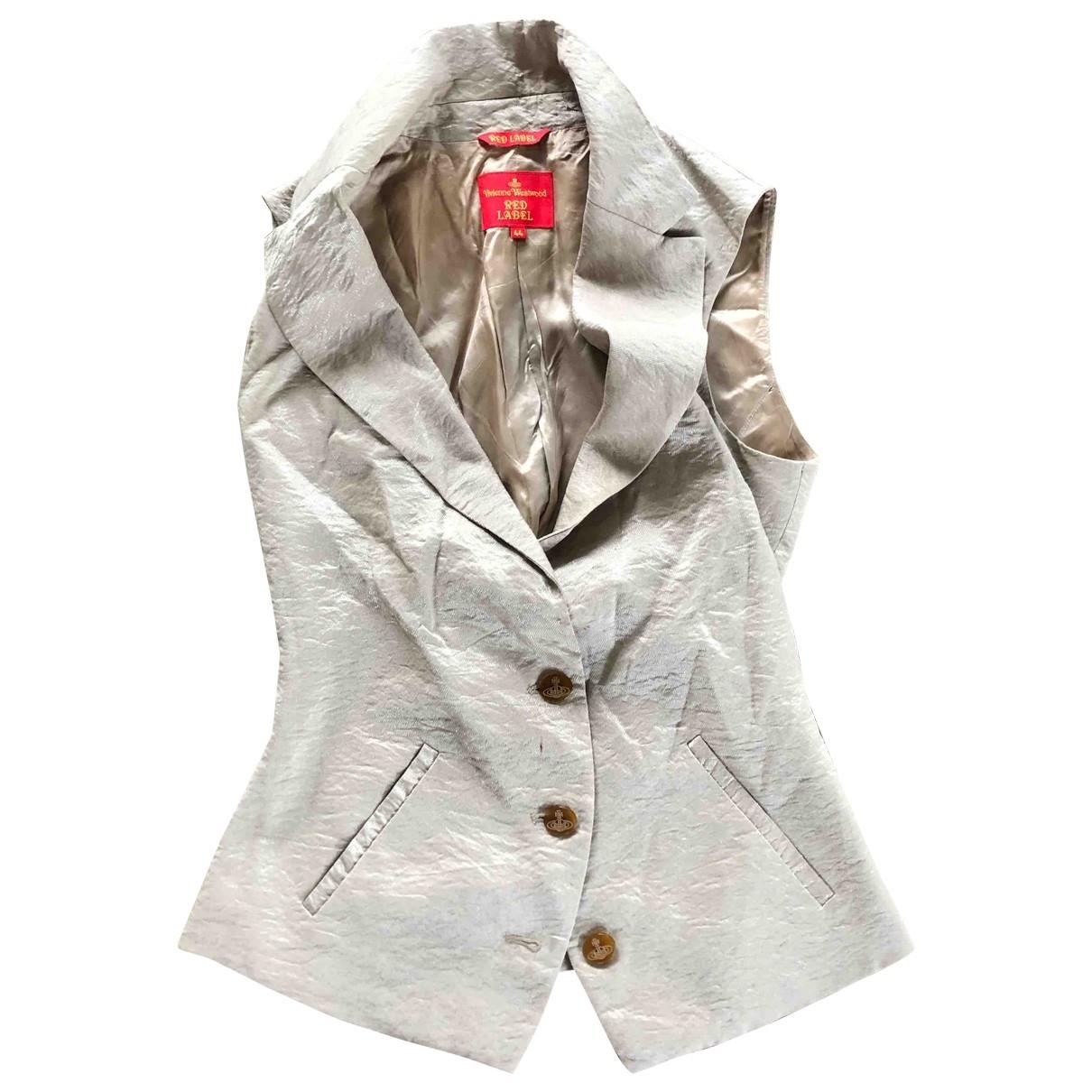 Vivienne Westwood Red Label - Veste   pour femme - dore
