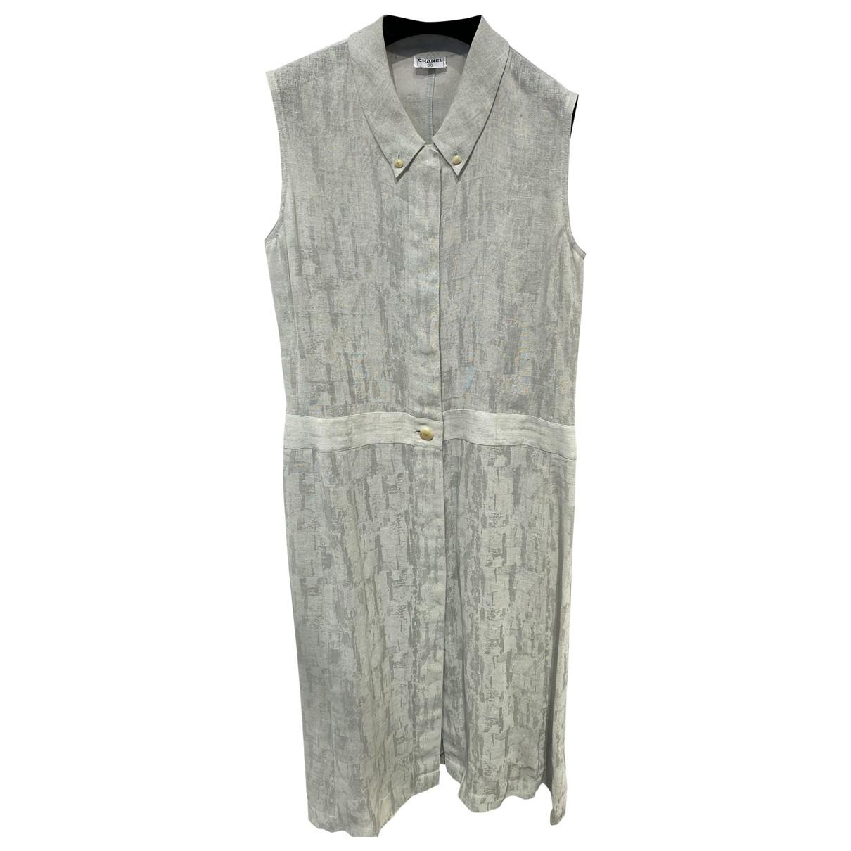 Maxi vestido de Lino Chanel