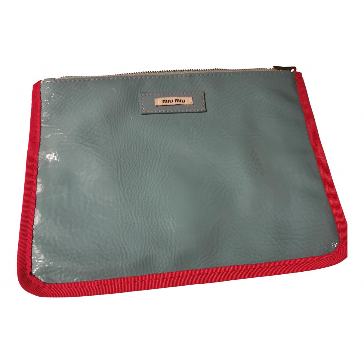 Miu Miu \N Blue Purses, wallet & cases for Women \N