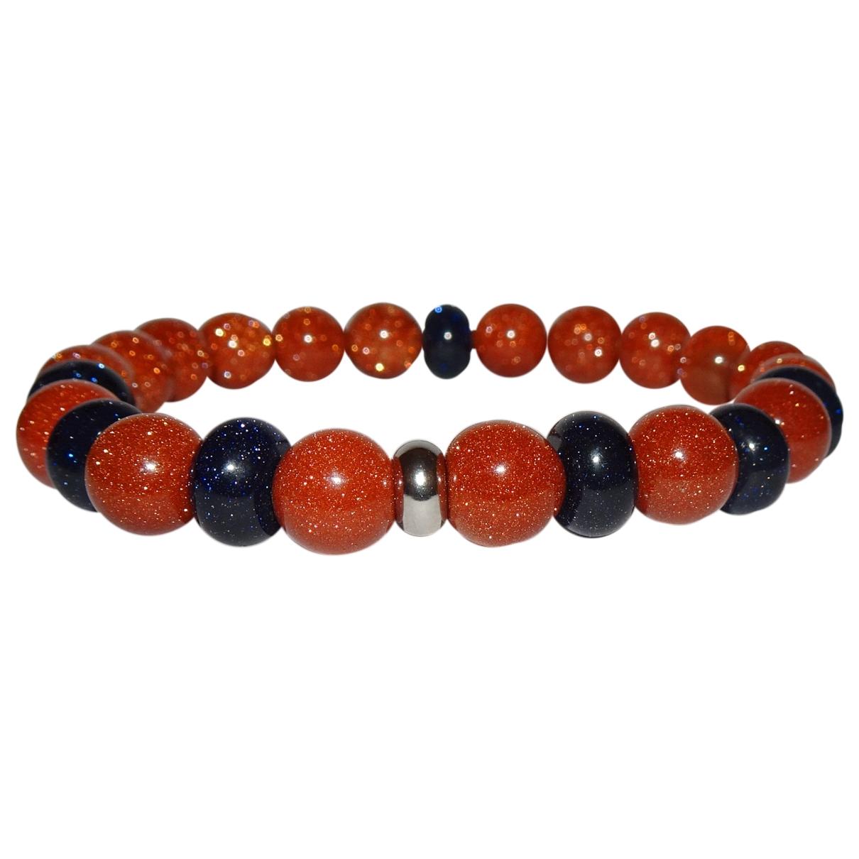 - Bracelet   pour femme en metal - orange