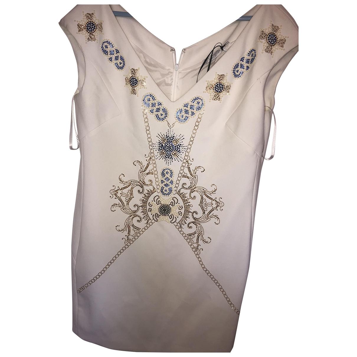 Versace \N White dress for Women 46 FR