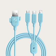 Cable de dato 3 en 1 Type-C