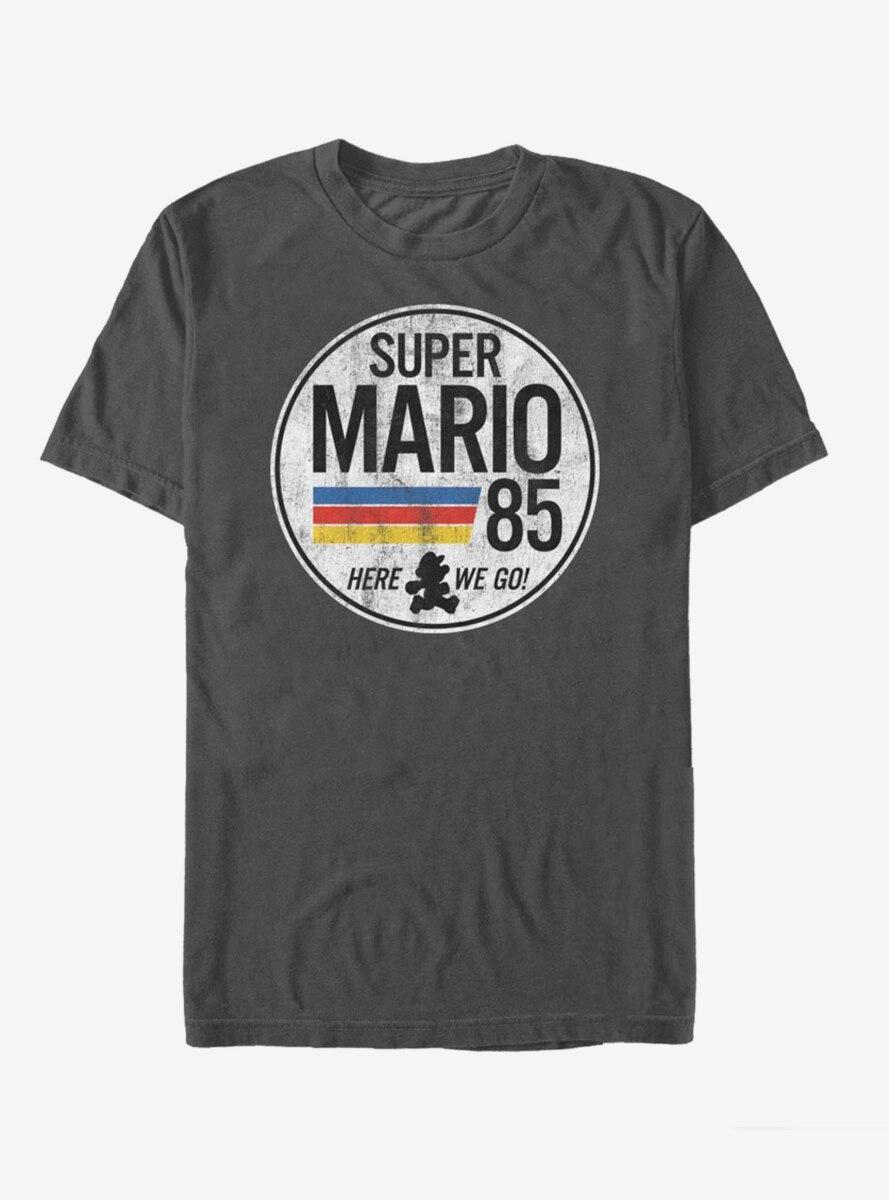 Nintendo Super Mario Retro Rainbow Ring T-Shirt
