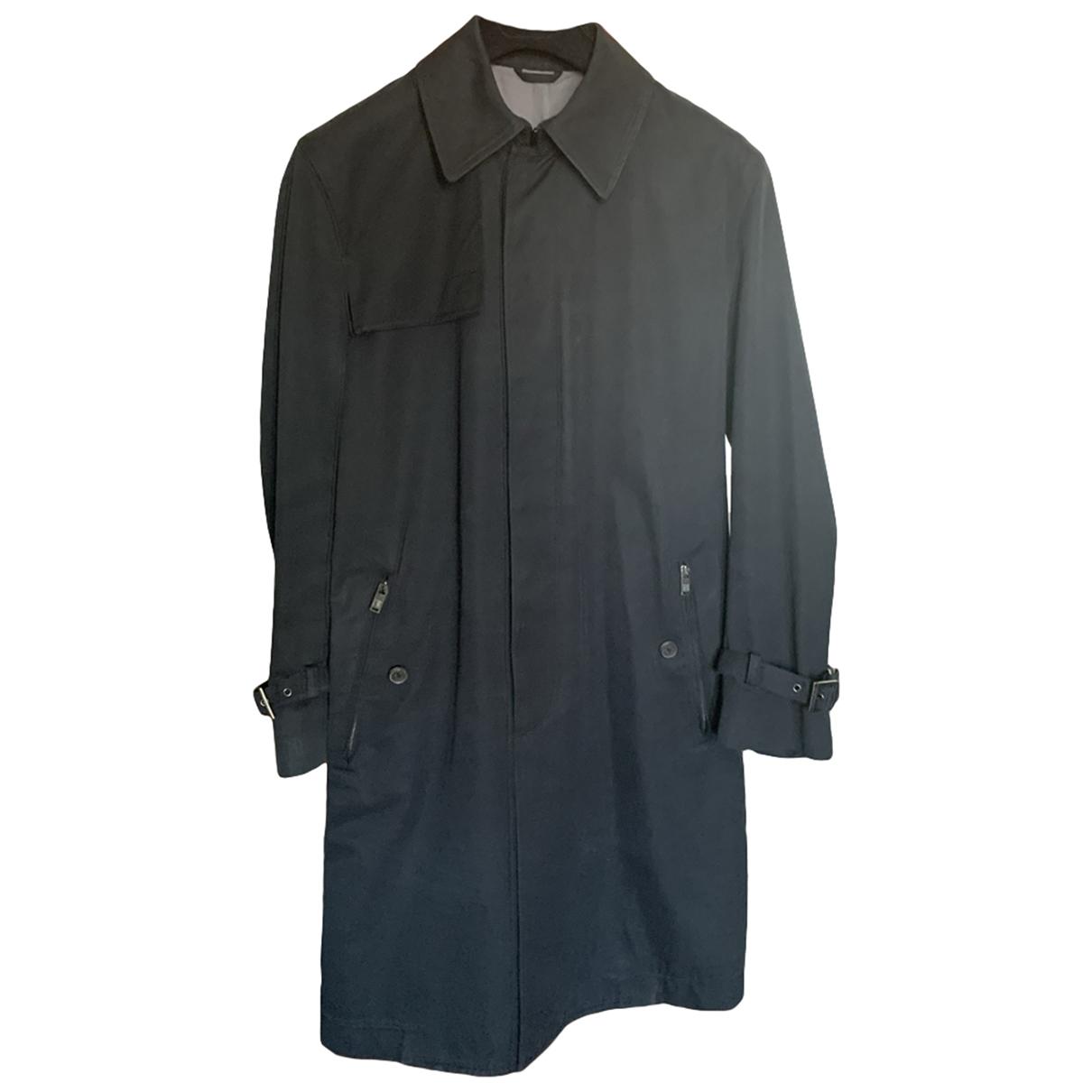 Louis Vuitton - Manteau   pour homme en coton - bleu