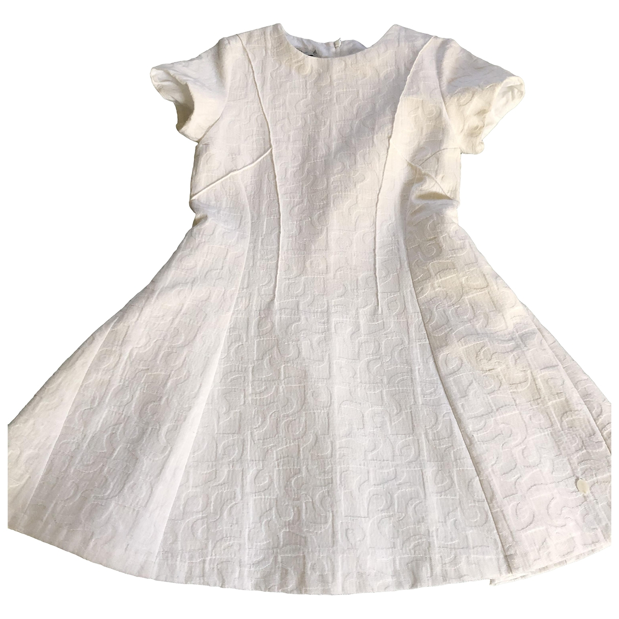 Dior \N White Cotton dress for Kids 10 years - up to 142cm FR