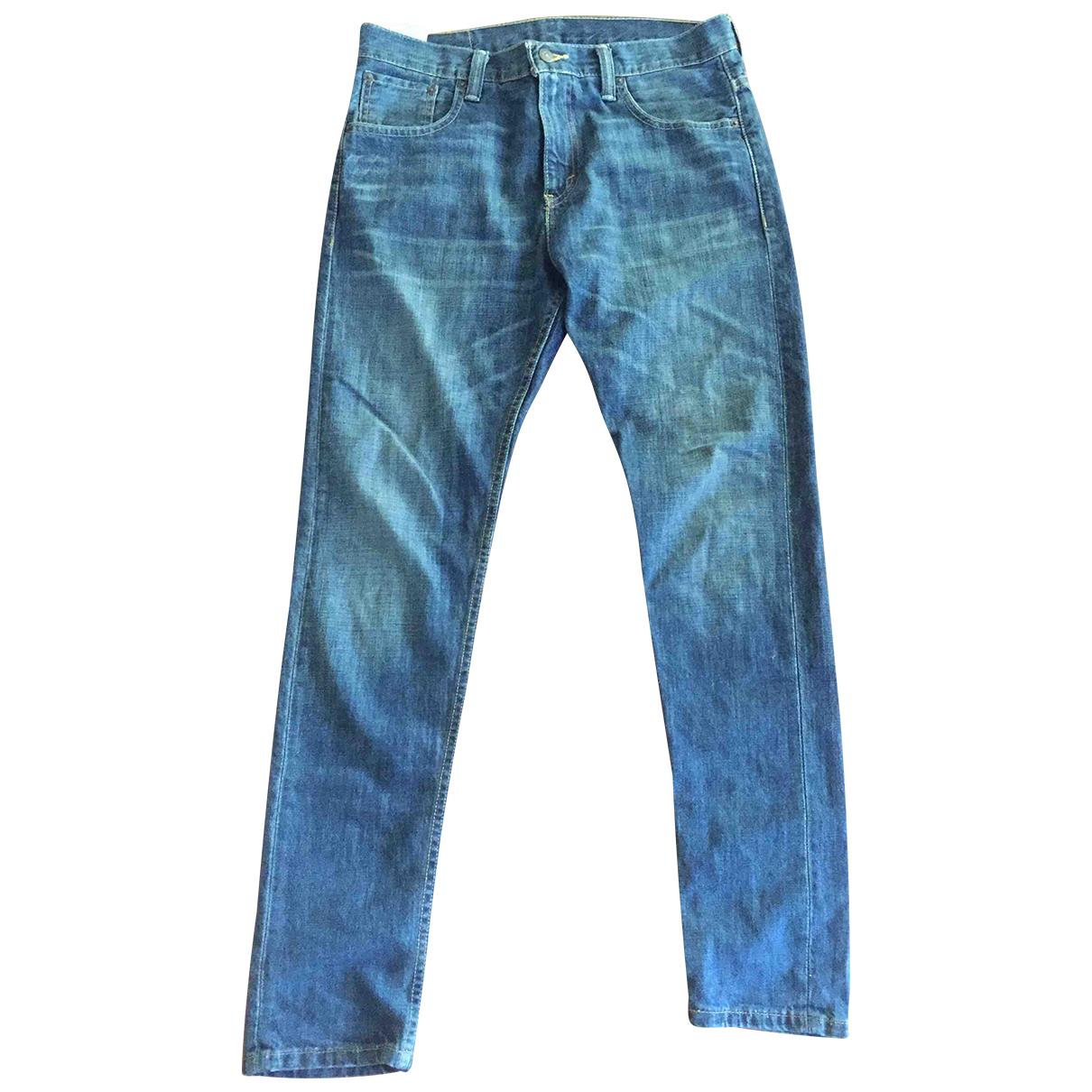 Levi's N Blue Cotton Jeans for Men 29 US