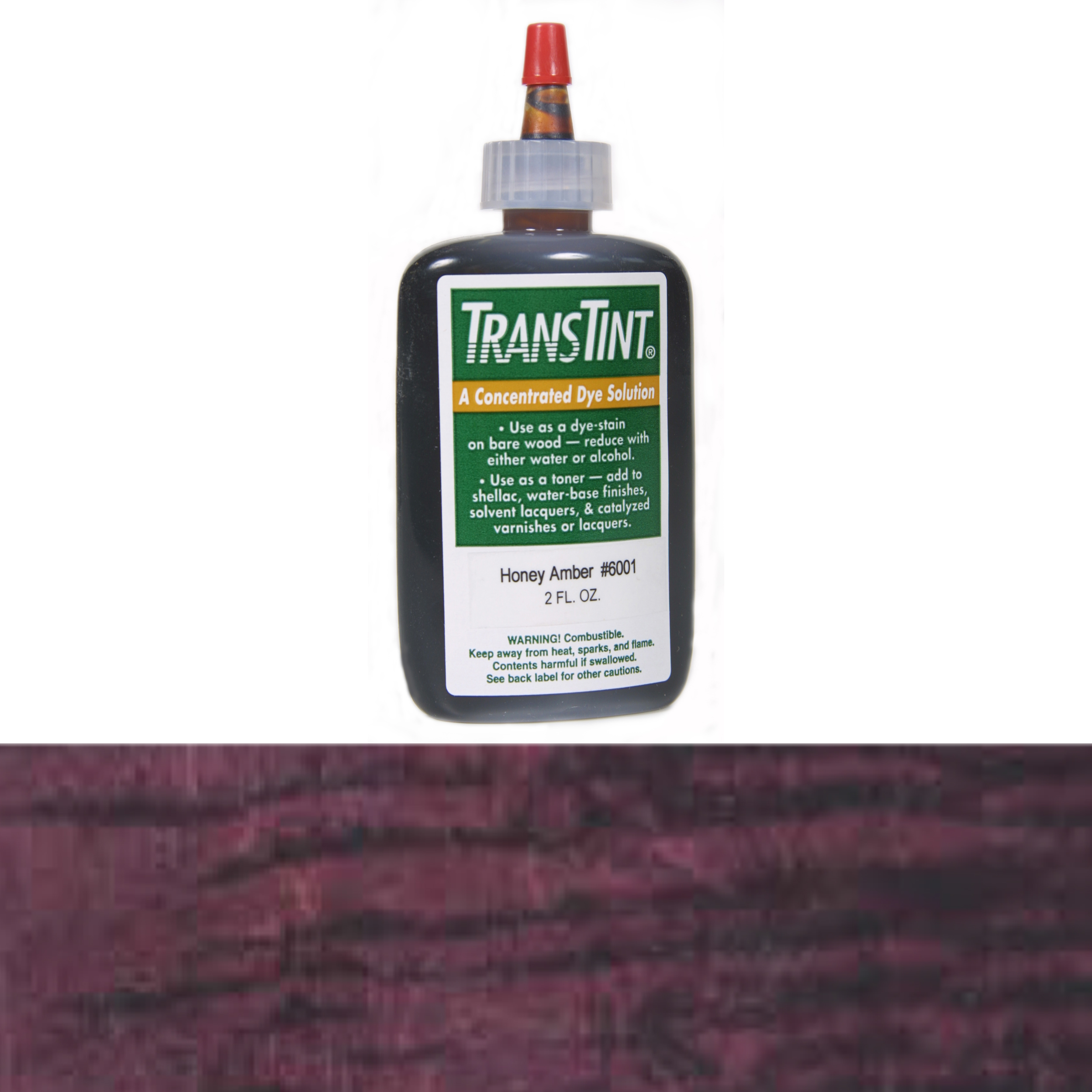 Cordovan Transtint Alcohol/Water Soluble Dye 1 oz