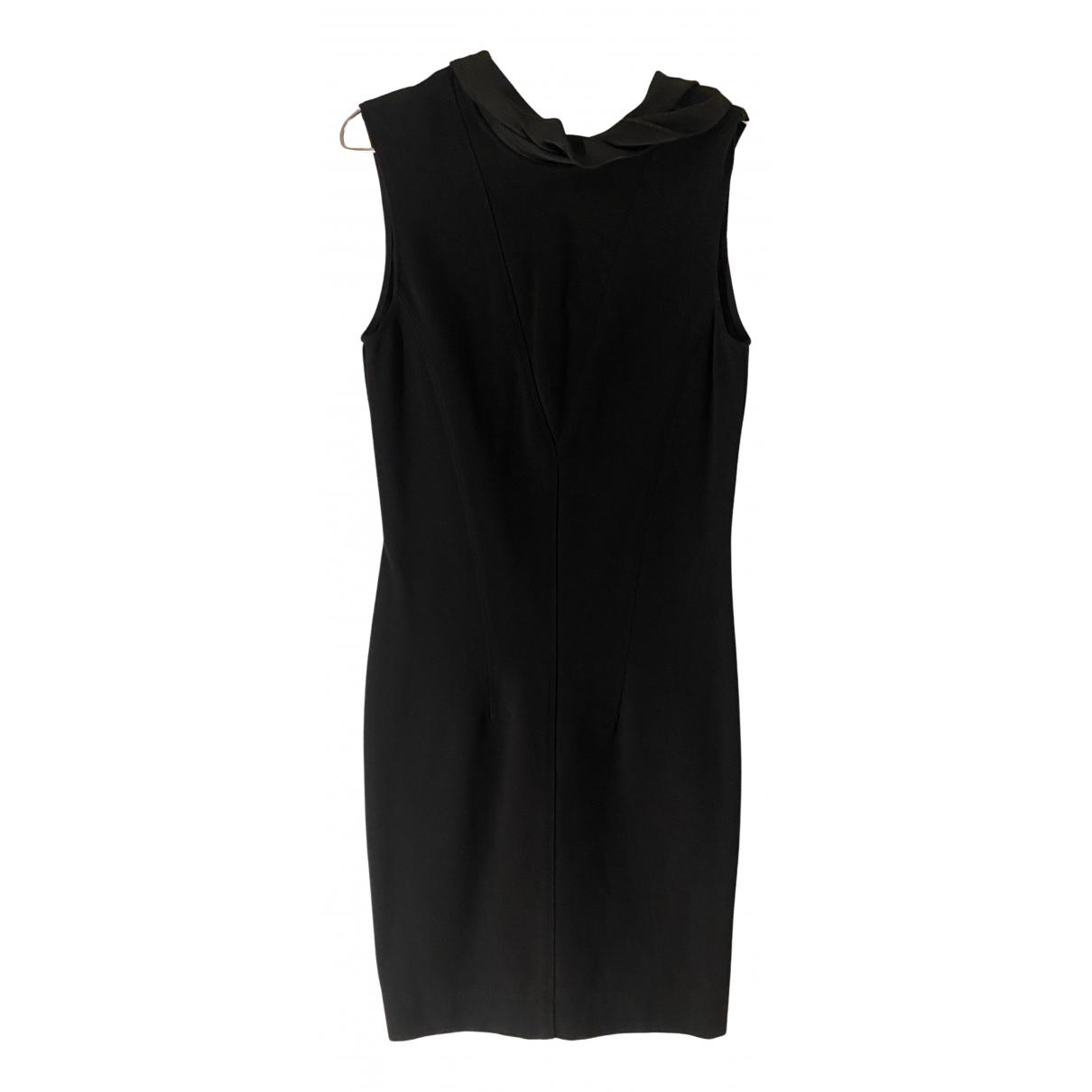 Sandro \N Kleid in  Schwarz Synthetik