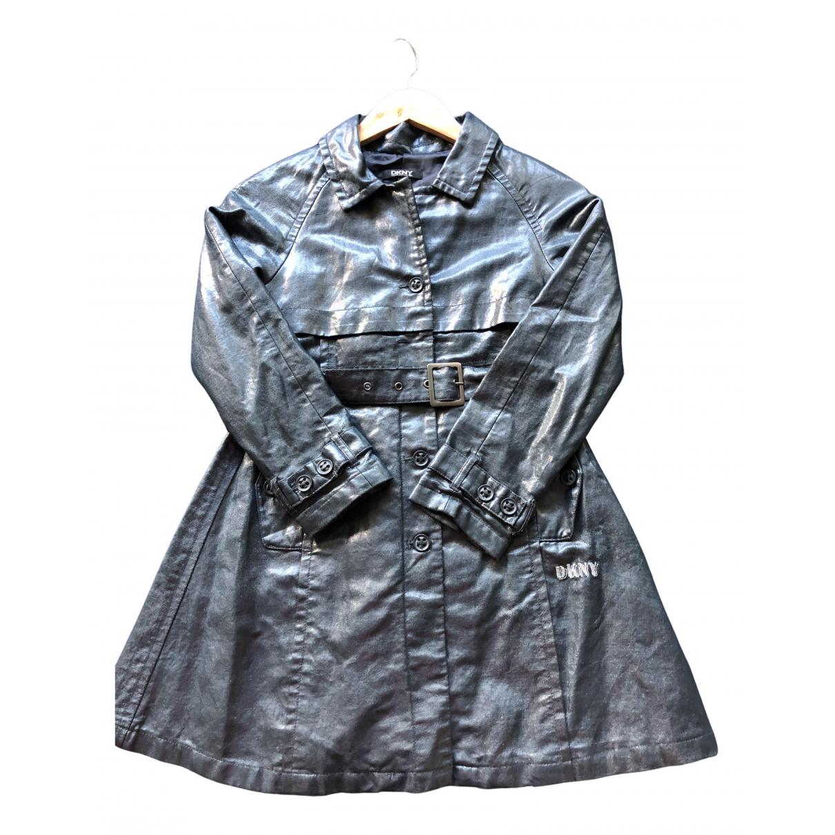 Dkny - Blousons.Manteaux   pour enfant en coton - gris