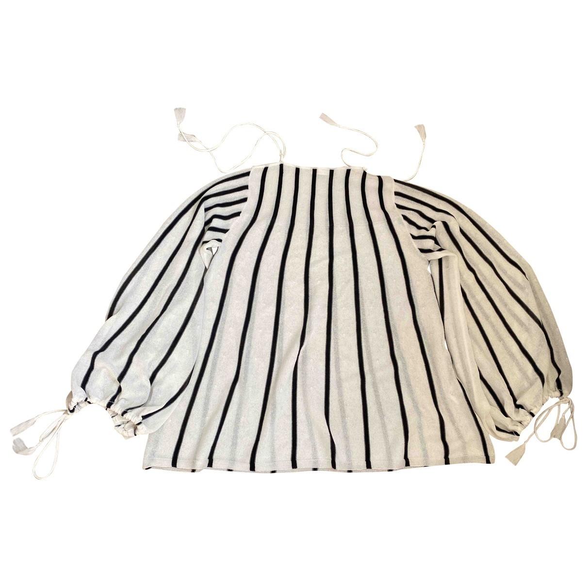 See By Chloe - Pull   pour femme en coton - ecru