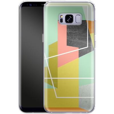 Samsung Galaxy S8 Plus Silikon Handyhuelle - Color Block II von Susana Paz