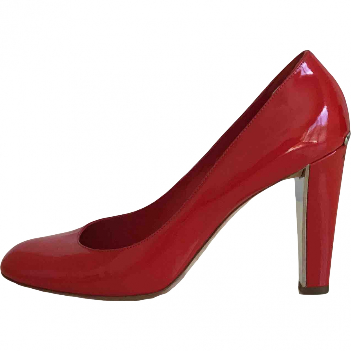 Dior \N Red Patent leather Heels for Women 40 EU