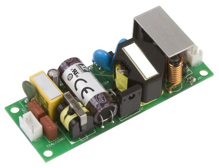 XP Power , 30W AC-DC Converter, 48V dc, Open Frame, Medical Approved