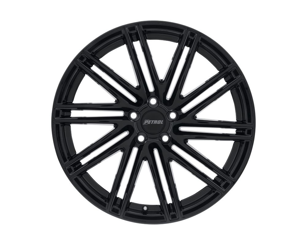 Petrol 1780P1C405108F72 P1C Wheel 17x8 5x108 40mm Gloss Black w/ Machined Face