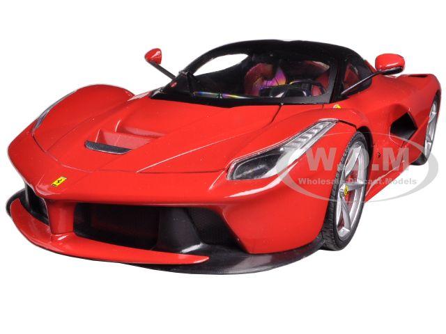 Ferrari Laferrari F70 Hybrid Red 1/18 Diecast Car Model by Hotwheels