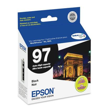 Epson T097120S cartouche d'encre originale extra noire haute capacité