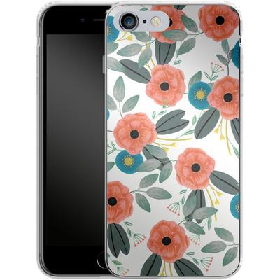 Apple iPhone 6s Plus Silikon Handyhuelle - Poppy Dream von Iisa Monttinen