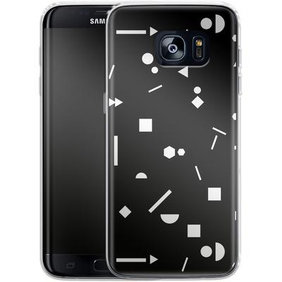 Samsung Galaxy S7 Edge Silikon Handyhuelle - My Favourite Pattern 3 von Mareike Bohmer