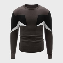 Pullover mit Cut and Sew Design