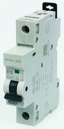 Eaton Memera 10 A MCB Mini Circuit Breaker, 1P Curve C