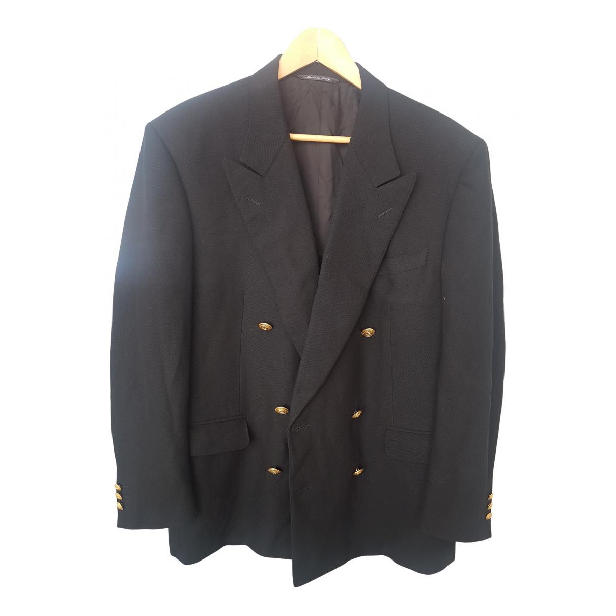 Celine \N Black Wool jacket for Women 50-52 IT