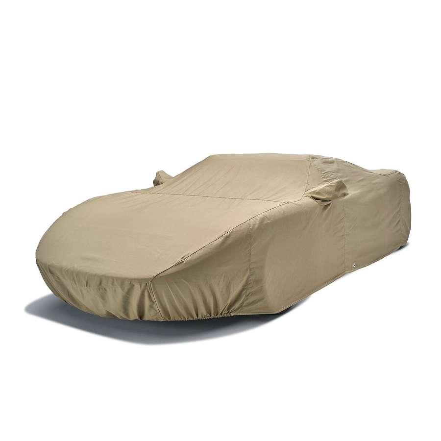 Covercraft C16TF Tan Flannel Custom Car Cover Tan Jaguar