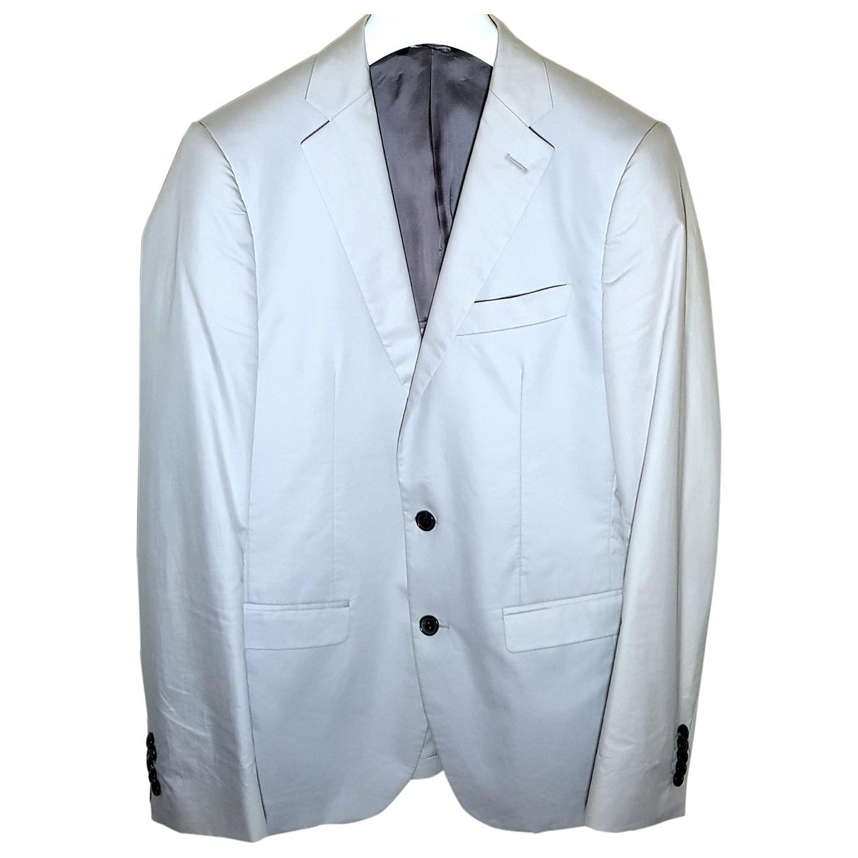 - Vestes.Blousons   pour homme en coton - blanc