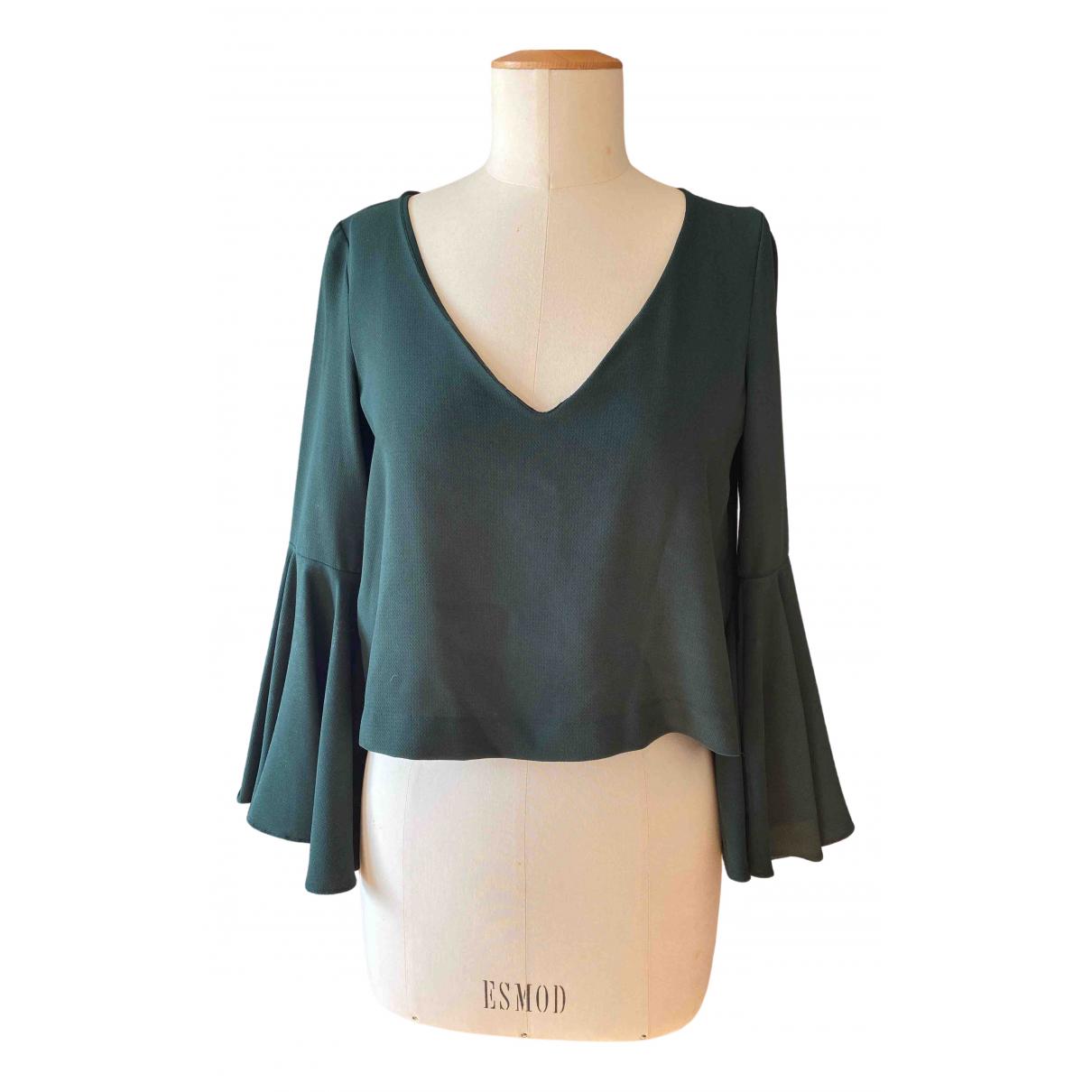 Zara - Top   pour femme - vert