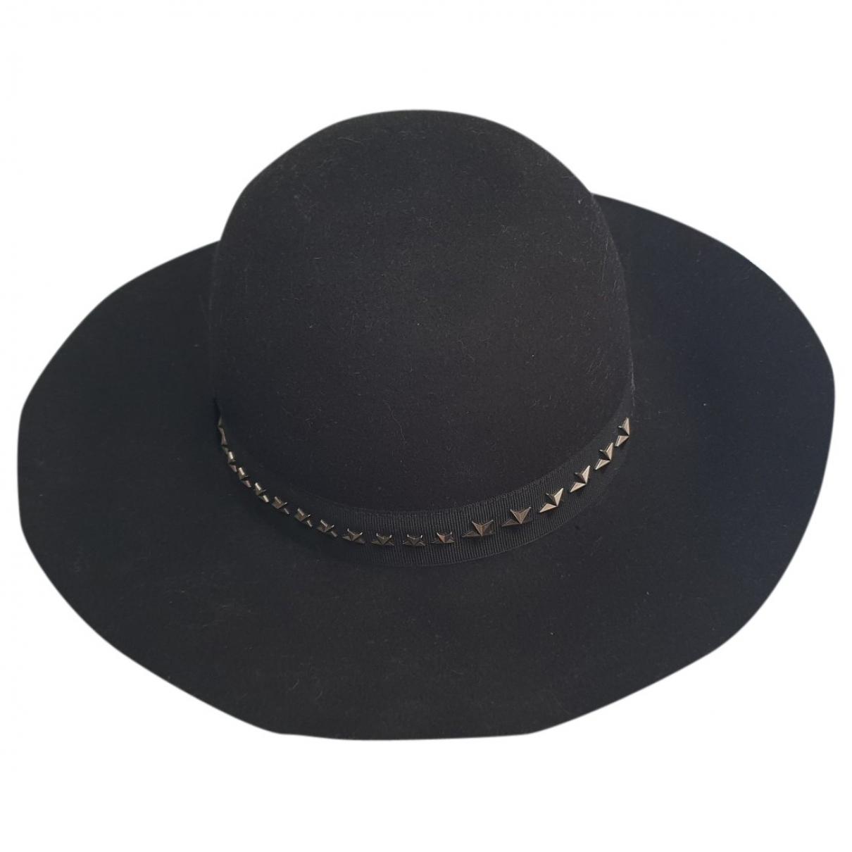 Jimmy Choo \N Black Wool hat for Women M International