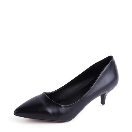 Yoins Black Point Toe Stiletto Heels