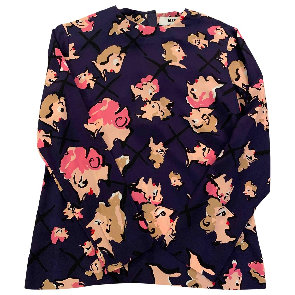 Msgm \N Silk  top for Women 38 IT