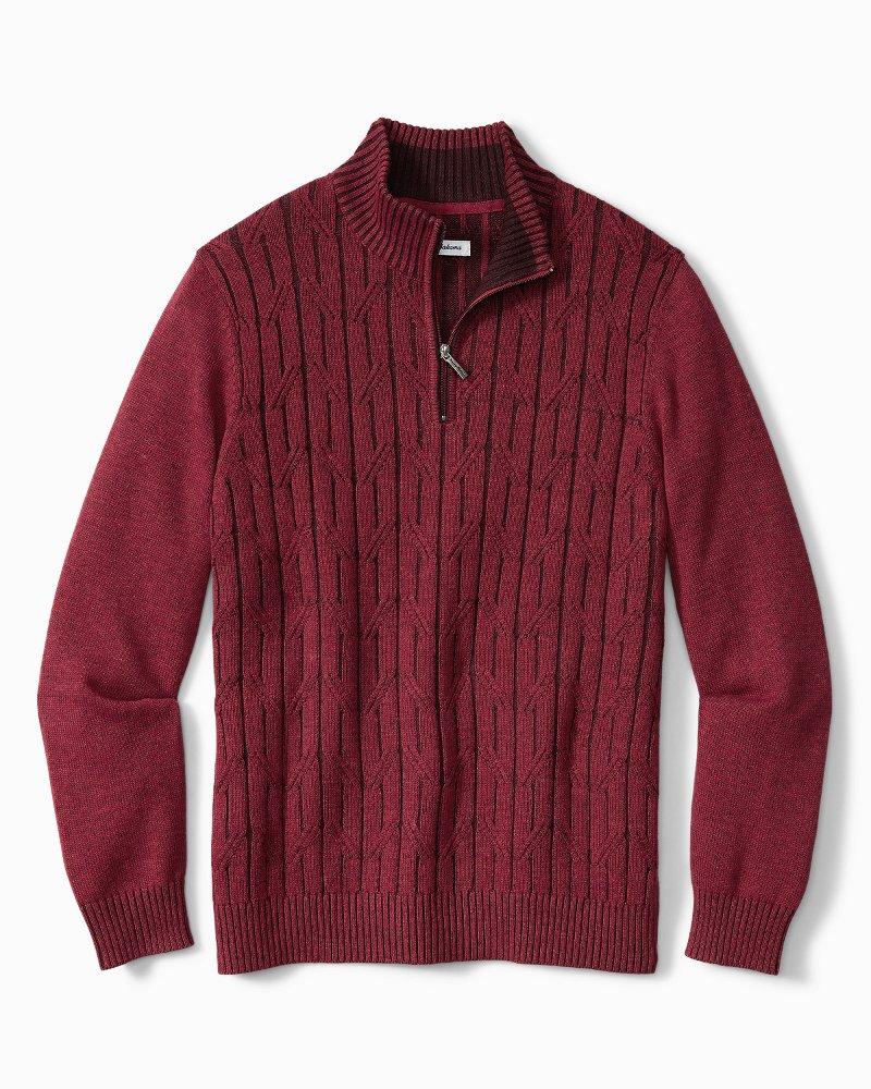Big & Tall Deep Sea Half-Zip Sweatshirt