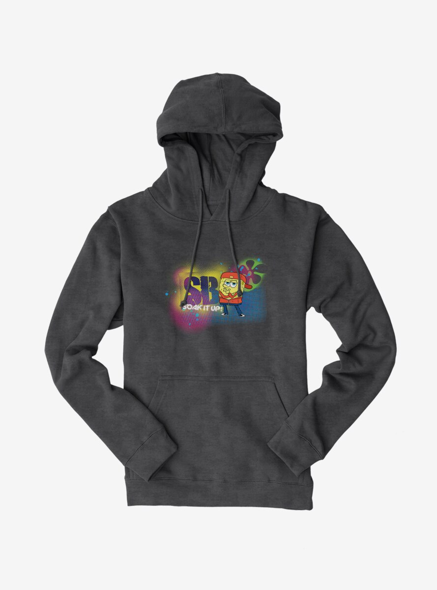 SpongeBob SquarePants Dance Crew Soak It Up Hoodie