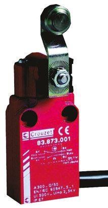 Crouzet , Snap Action Limit Switch - Metal, NO/NC, Lever, 30V, IP66, IP67