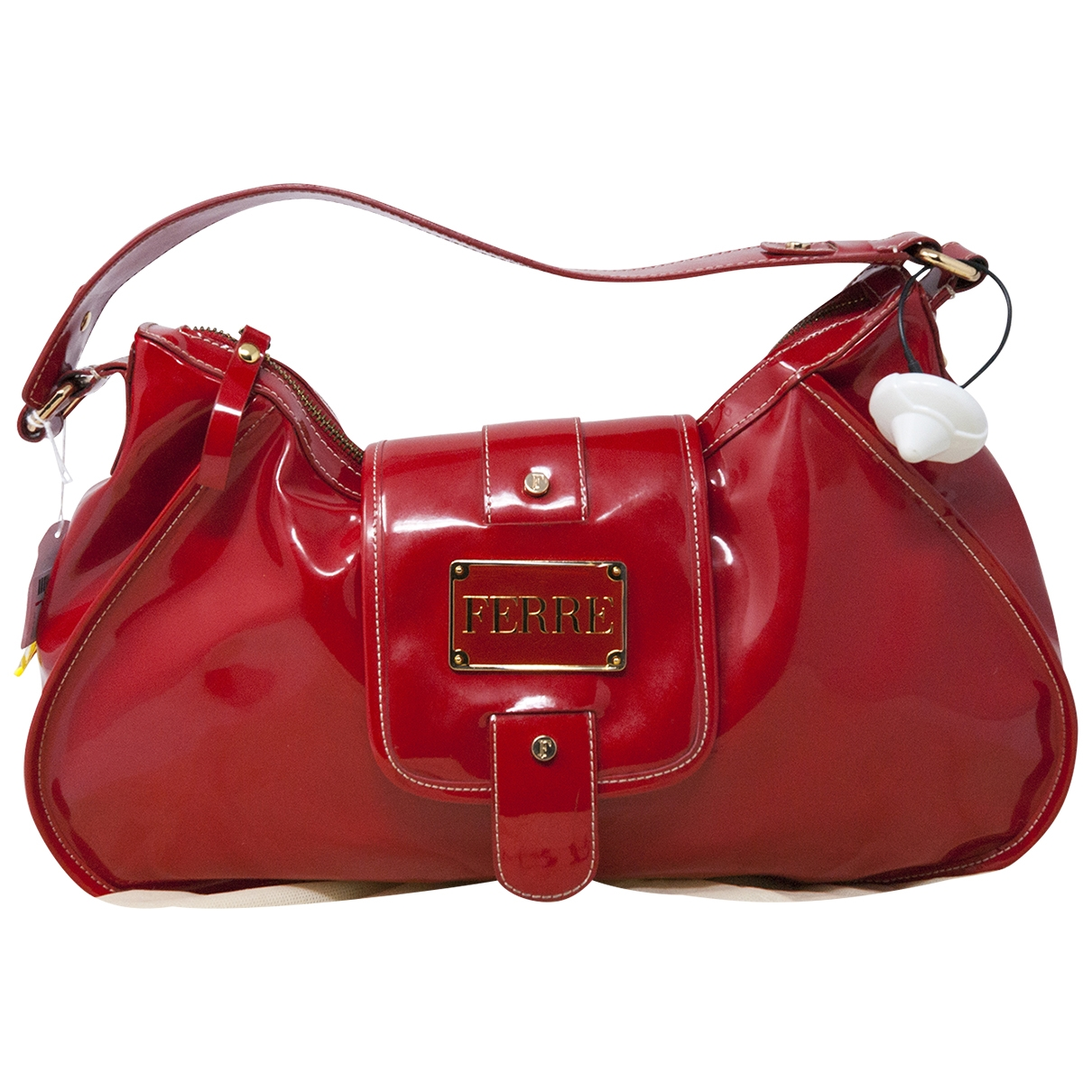 Gianfranco Ferré \N Red Patent leather handbag for Women \N