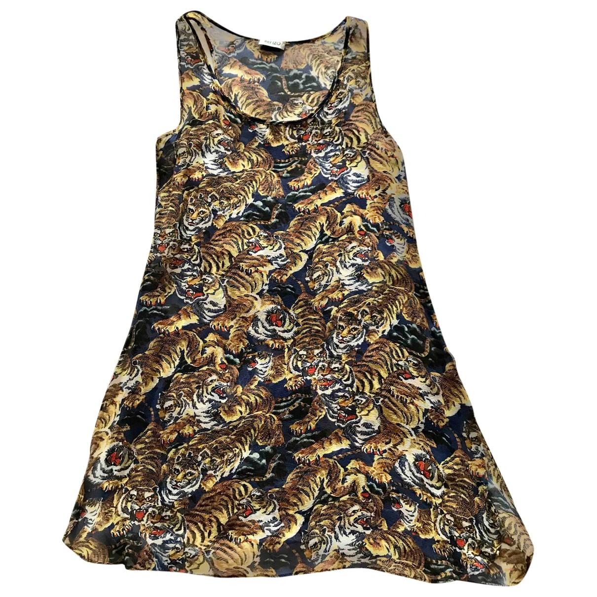 Mini vestido de Seda Kenzo