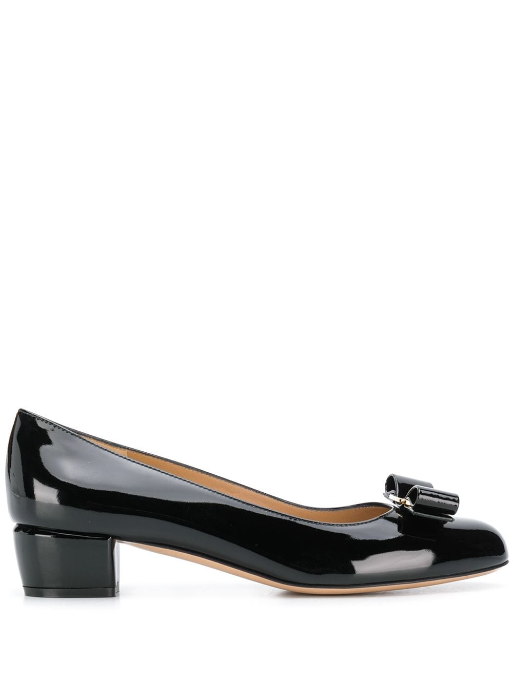 Vara Patent Leather Pumps