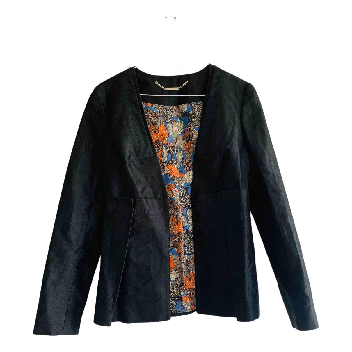 Matthew Williamson \N Black Silk jacket for Women 8 UK