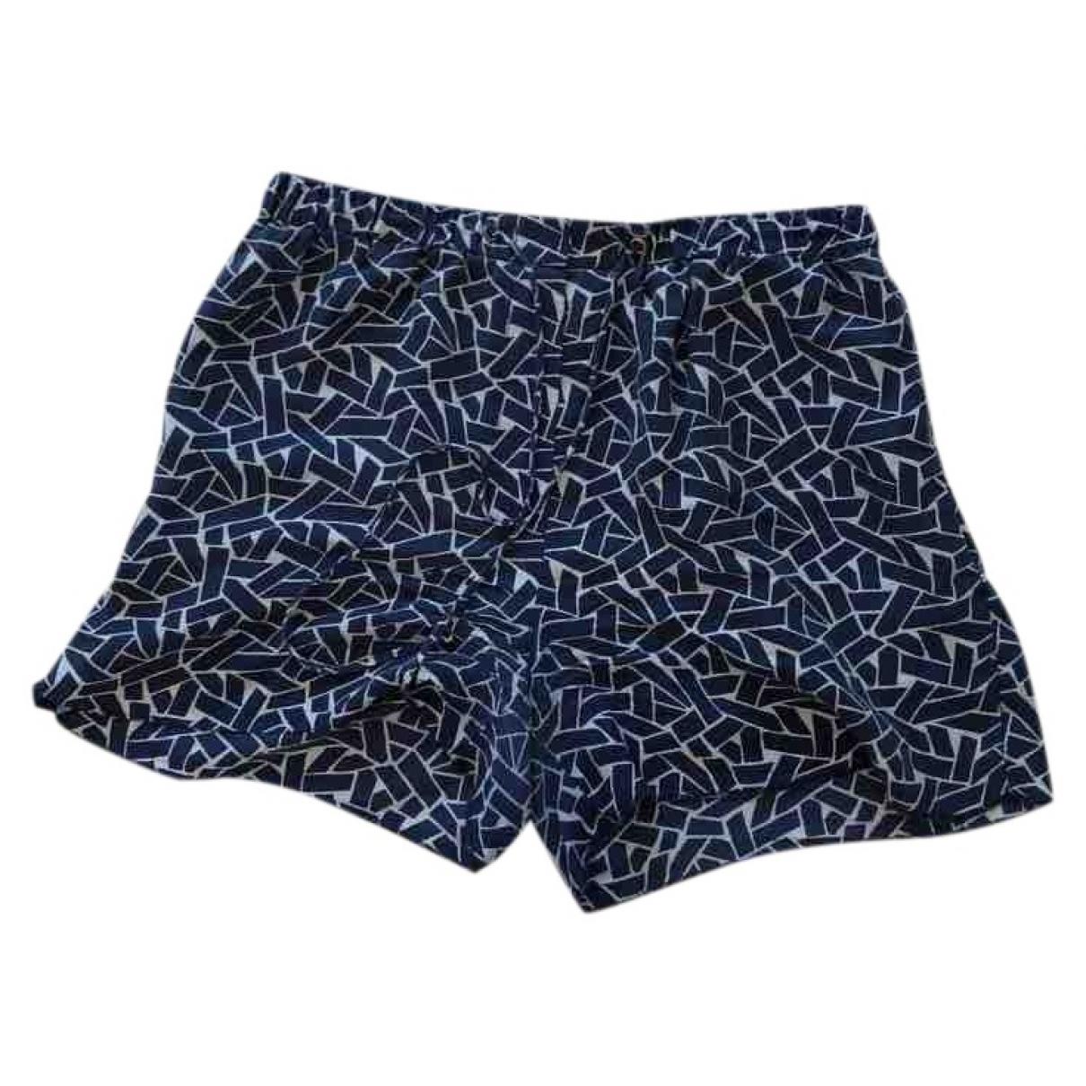Diane Von Furstenberg \N Shorts in  Blau Seide