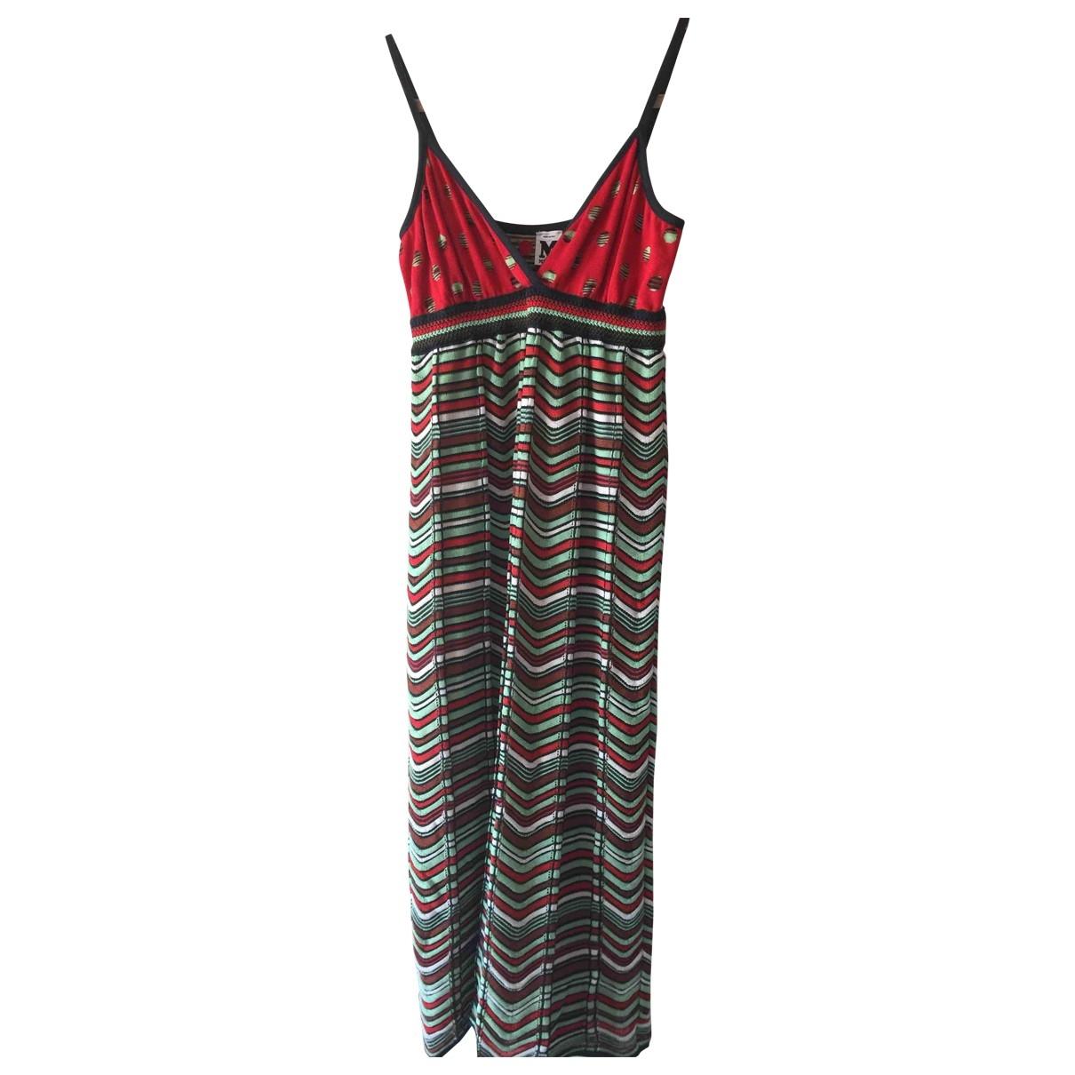 M Missoni \N Multicolour Cotton dress for Women 38 FR