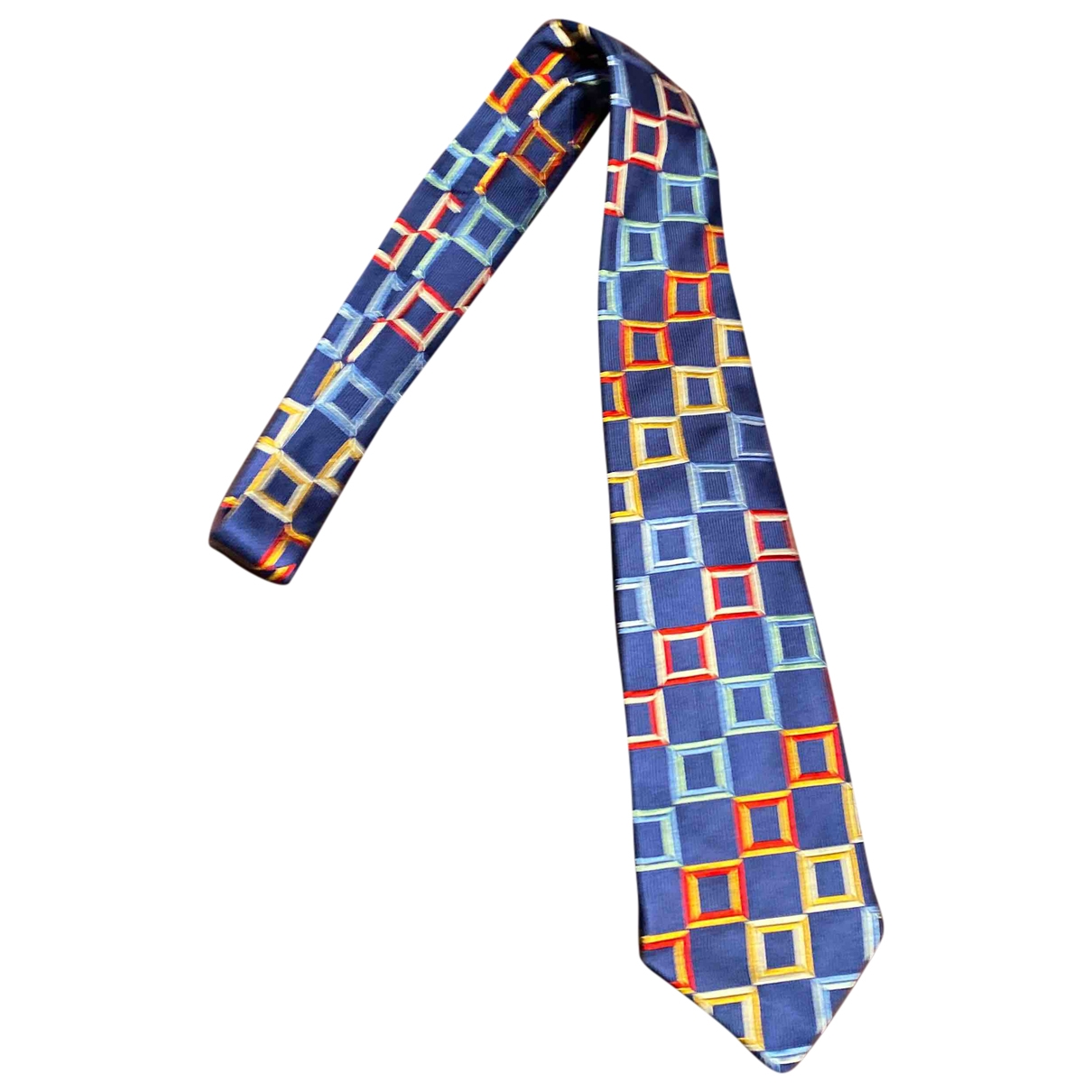 Turnbull & Asser \N Krawatten in  Marine Seide