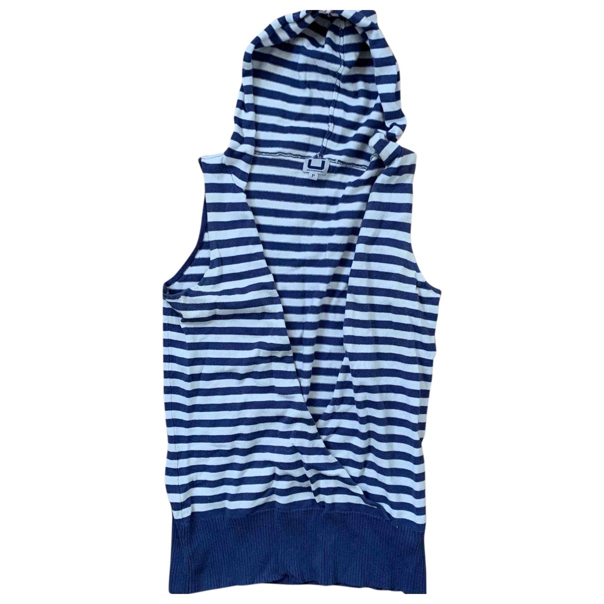 Adolfo Dominguez - Pull   pour femme en coton - bleu