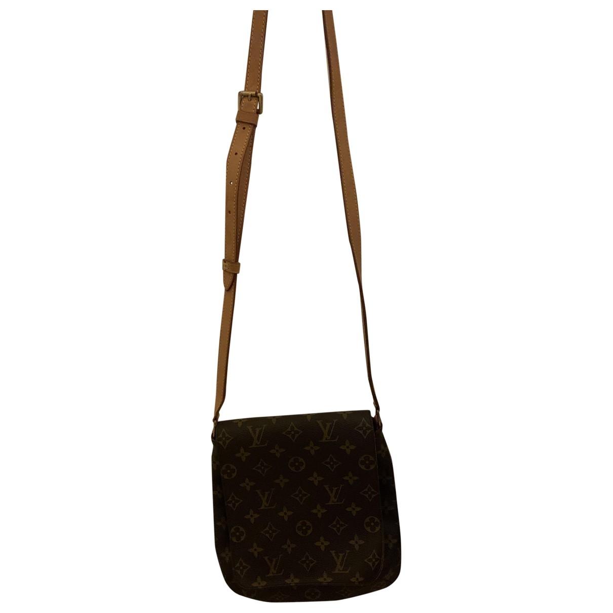 Louis Vuitton - Sac a main Salsa pour femme en toile - marron