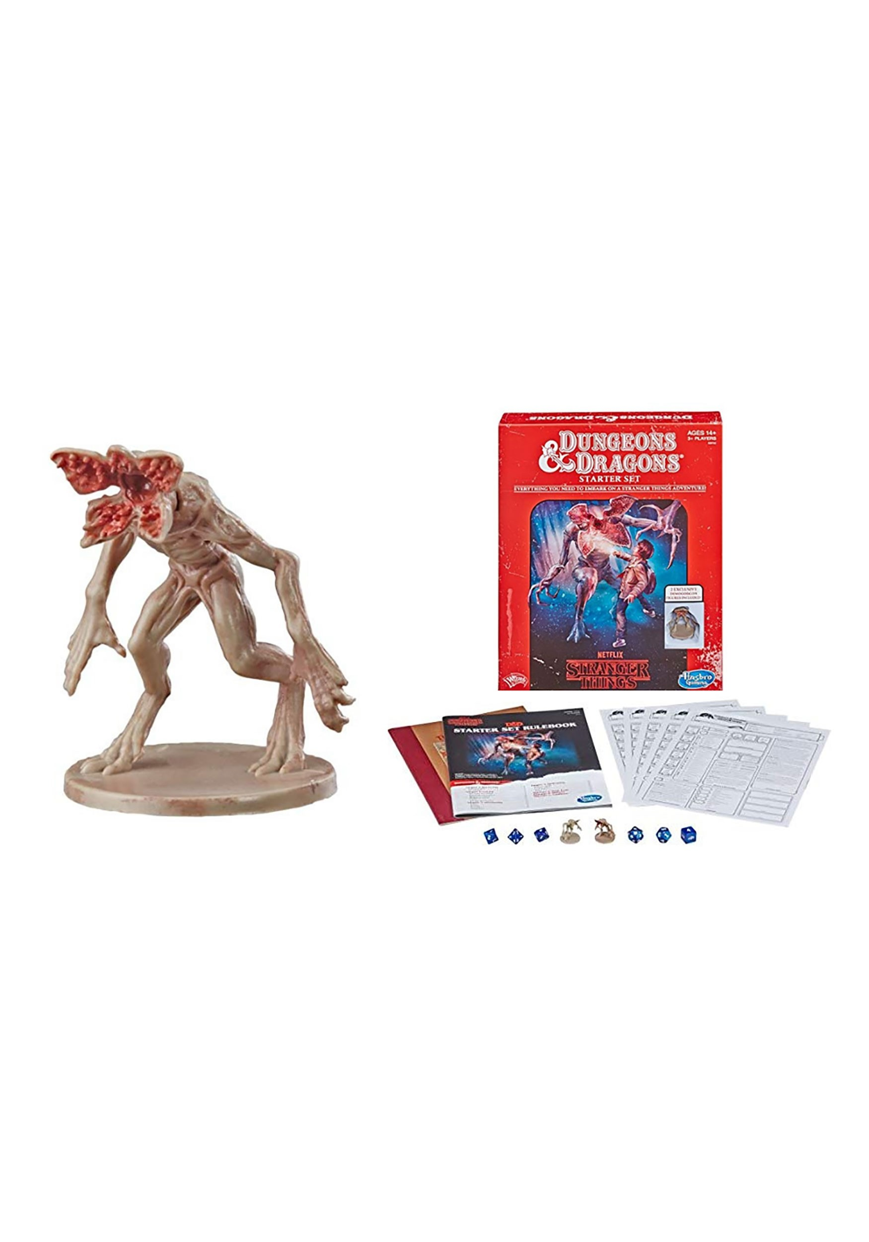 Dungeons & Dragons Roleplaying Game Starter Stranger Things
