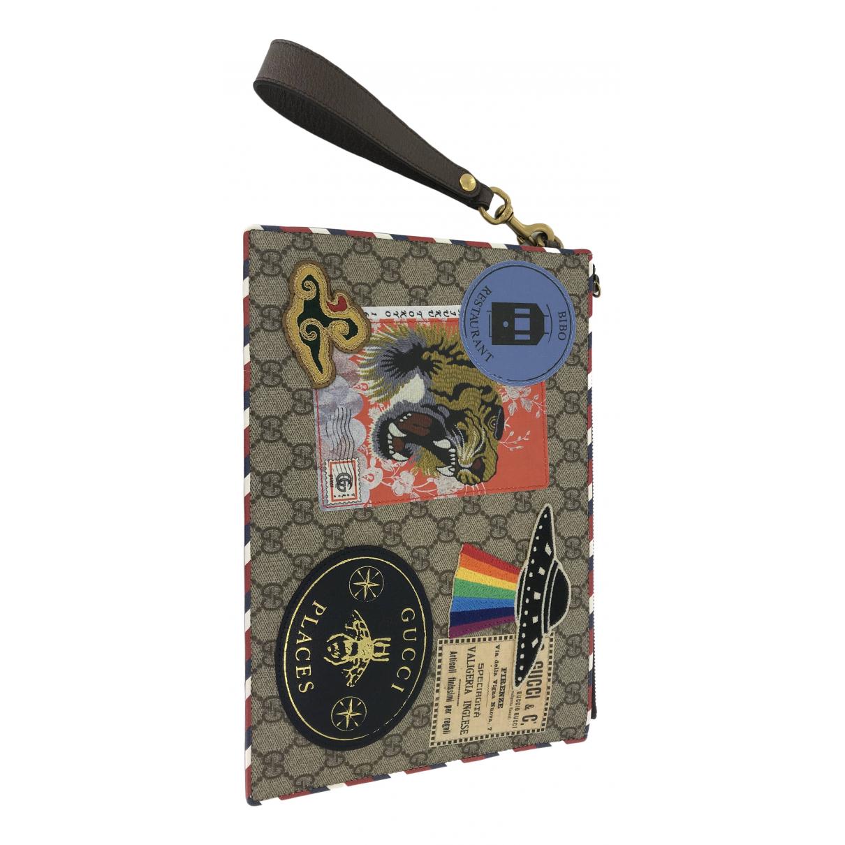 Gucci \N Multicolour Cloth Clutch bag for Women \N
