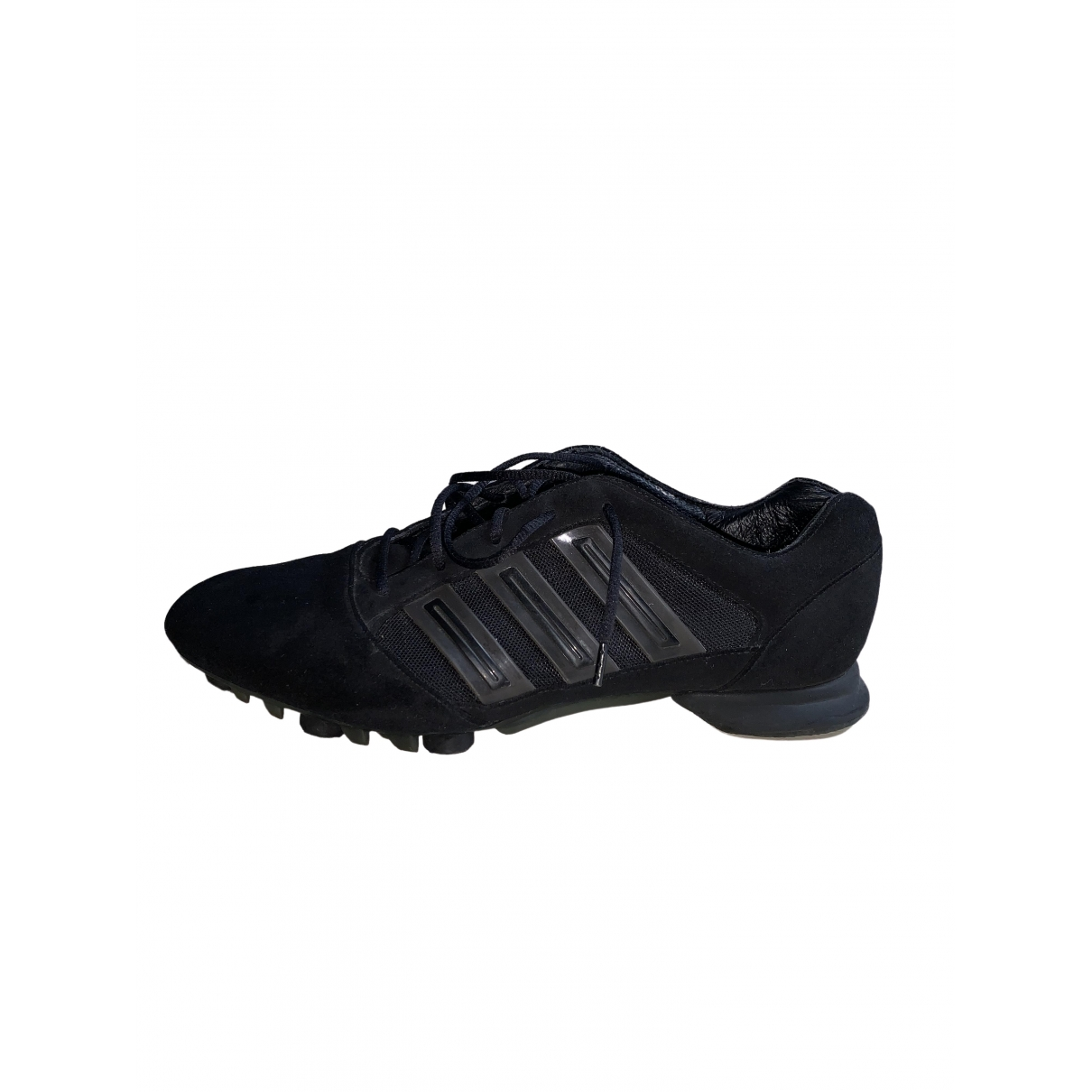 Y-3 By Yohji Yamamoto \N Blue Suede Trainers for Men 11 UK