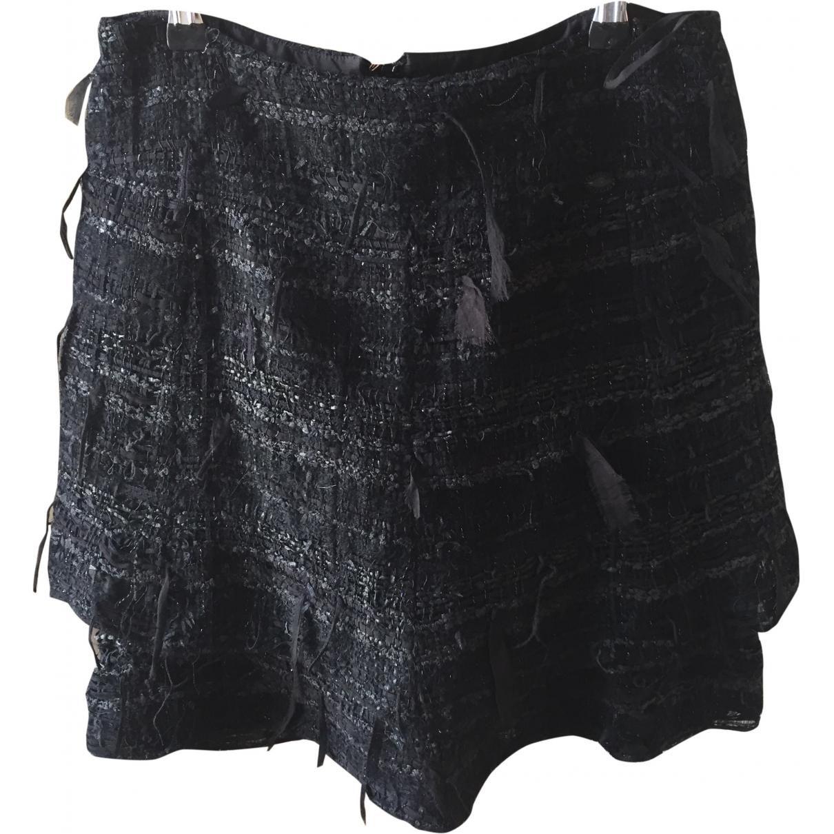 Chanel \N Black Tweed skirt for Women 38 FR