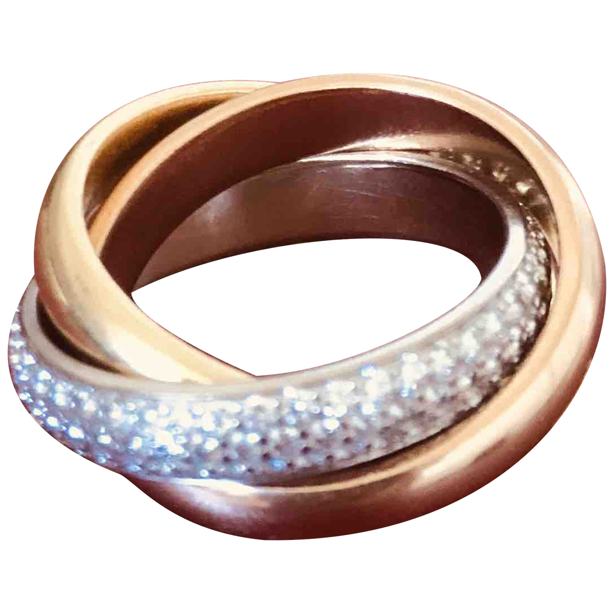 Cartier Trinity Ring in Gelbgold