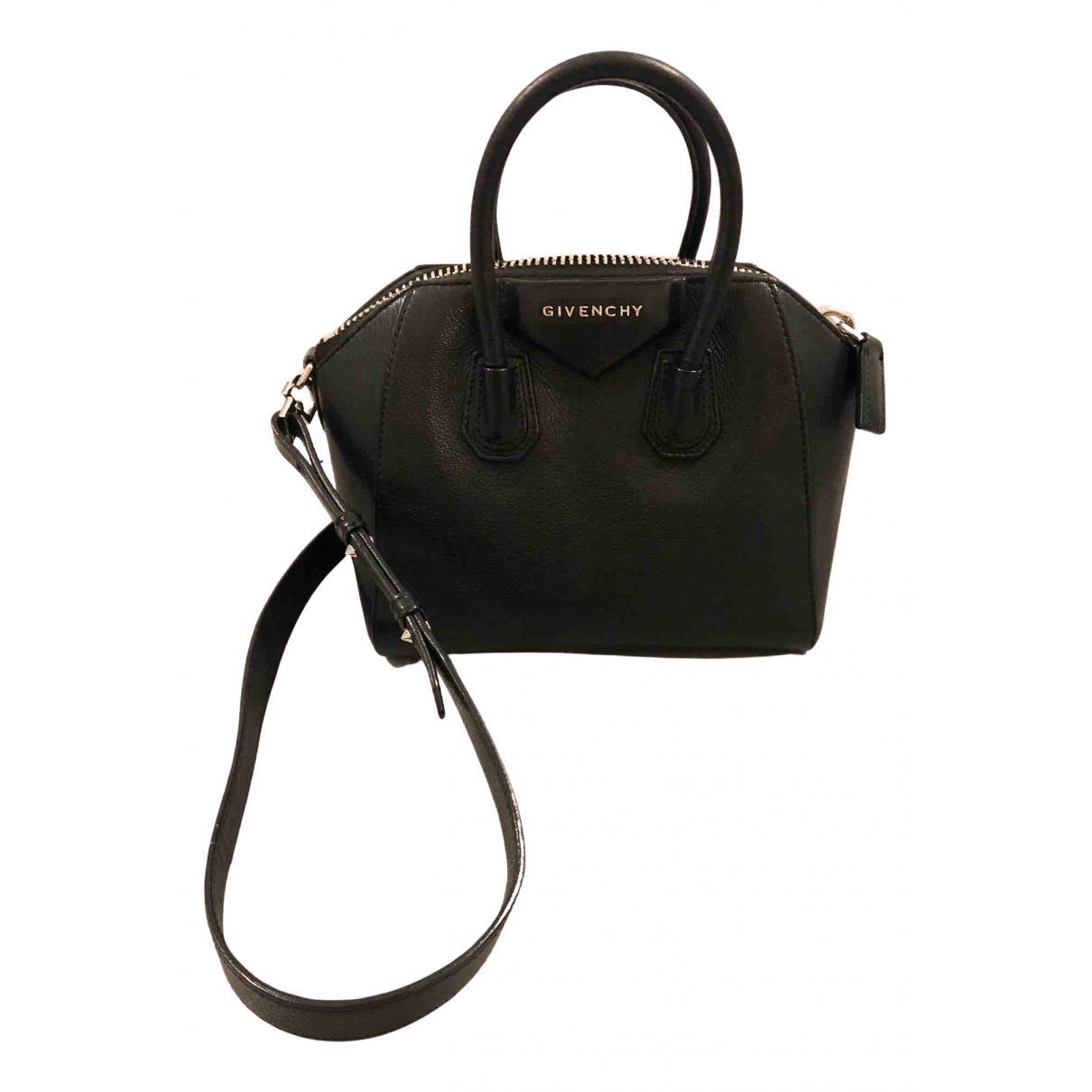 Givenchy Antigona Black Leather handbag for Women N
